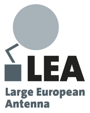 LEA Logo – Large European Antenna
